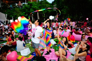 pride rally singapore pink dot