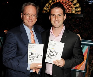 Former Google CEO Eric Schmidt and Jigsaw CEO Jared Cohen.