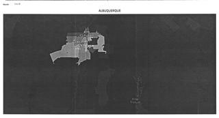 """Albuquerque YTD Heat Map"" showing months ""1 to 12."""