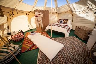 Yurt for glamping