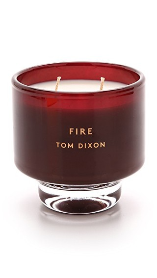 Fire scent element candle