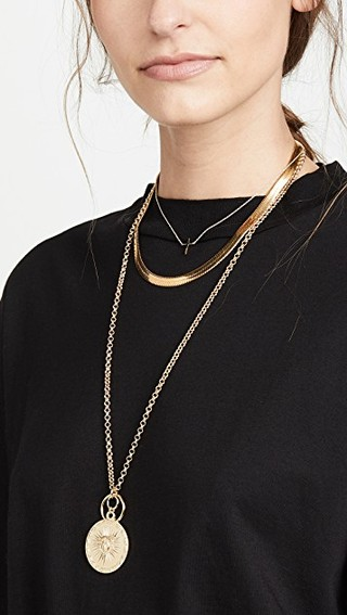 Sun necklace