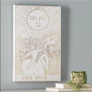 The Sun tarot graphic wall art