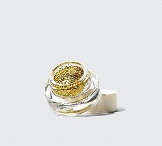 gold glitter gel