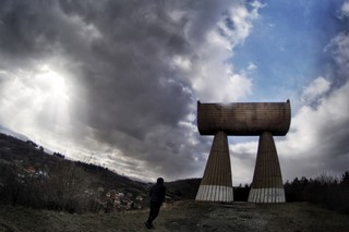 1562778247535-The-Miners-Basker-a-monument-to-miners-and-the-struggle-for-miners-rights-One-column-represents-Albanians-the-other-Serbs-carrying-the-weight-together