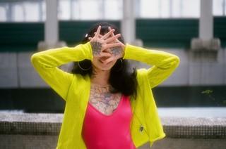 hong kong tattoo model
