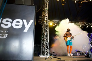Phony Ppl on the Noisey Stage at Lovebox festival 2019