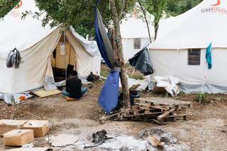 Flüchtlingscamp in Bosnien-Herzegowina