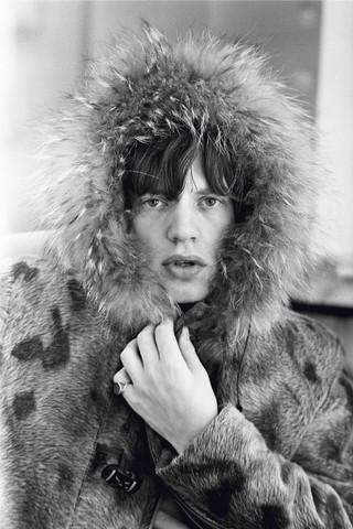Mick Jagger nei BBC Studios / Londra, 1964 / 81,1 x 58 cm © Terry O'Neill