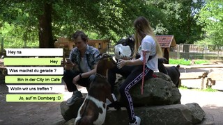 Fritz im Zoo