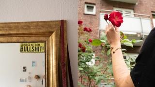 Split Rose Spiegel