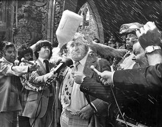 Eugene Whelan. Photo via CP.