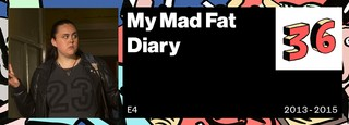 My Mad Fat Diary VICE 50 Best British TV Shows