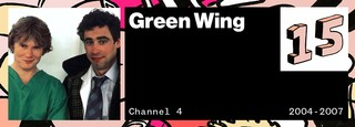 Green Wing VICE 50 Best British TV Shows