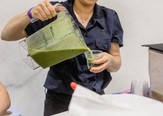 Smoothie at CBD expo London 2019