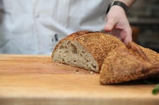 bread from gertie's in williamsburg, brooklyn