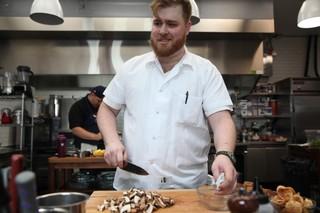chef will edwards of gertie in williamsburg, brooklyn