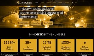 Screenshot von MindGeek.com
