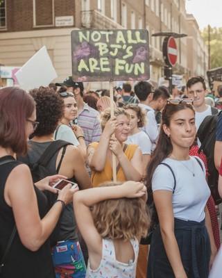 fuck boris protest