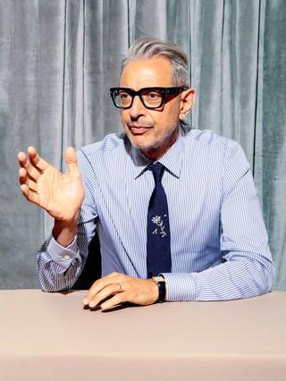 Jeff Goldblum wearing Prada and shot by Elizabeth Renstrom for VICE