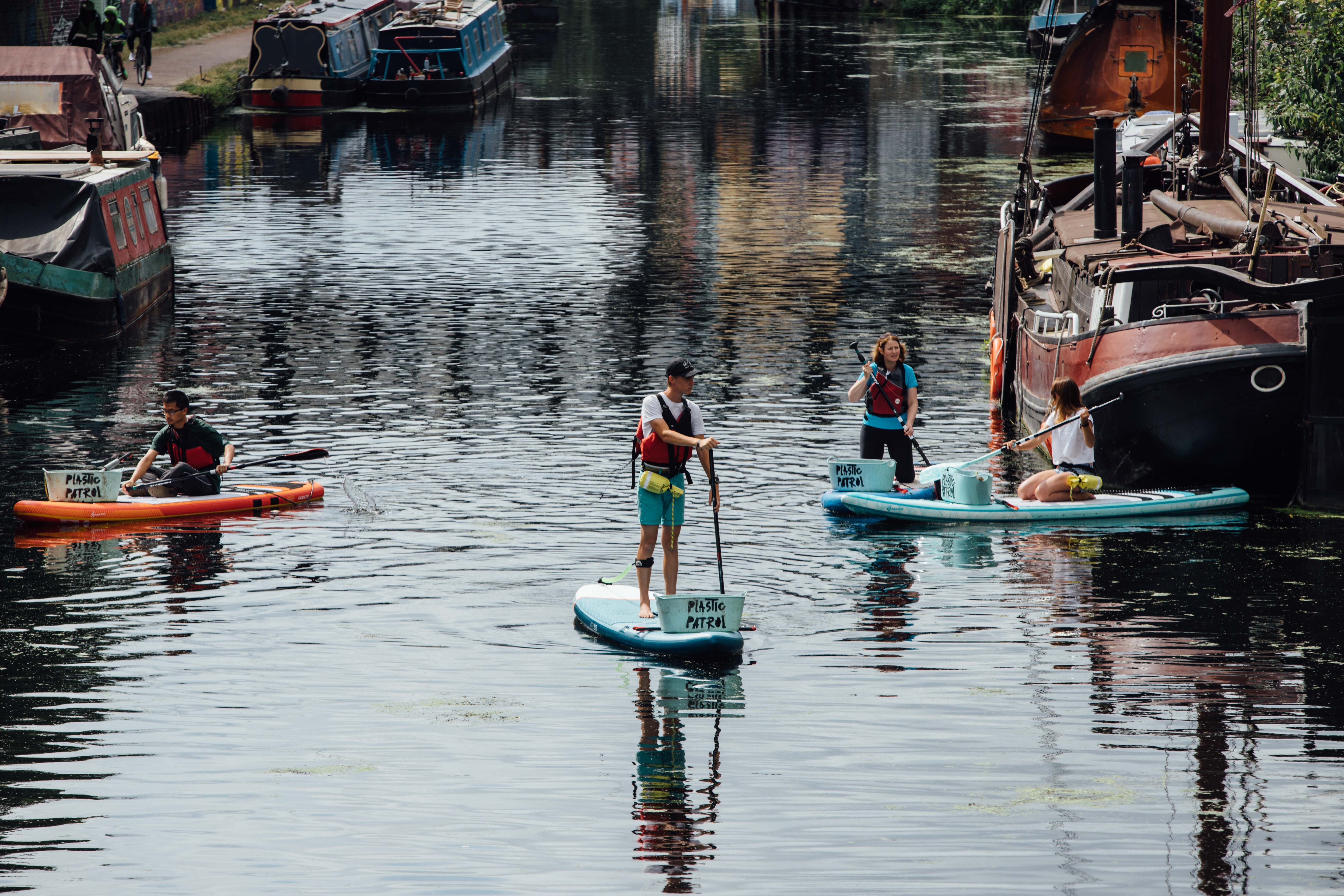 How a Cancer Survivor Is Saving London's Waterways - VICE