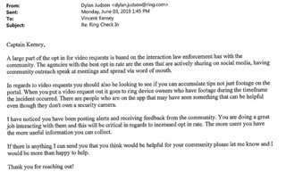 Emails from the Bloomfield, NJ police department obtained by Motherboard.