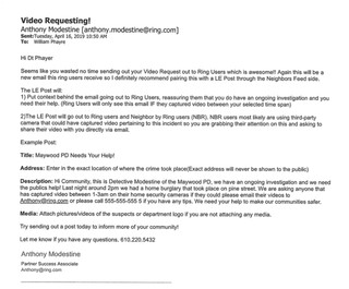 Emails from the Maywood, NJ police department obtained by Motherboard.