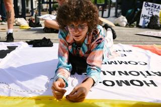 protest tijdens pride 2019