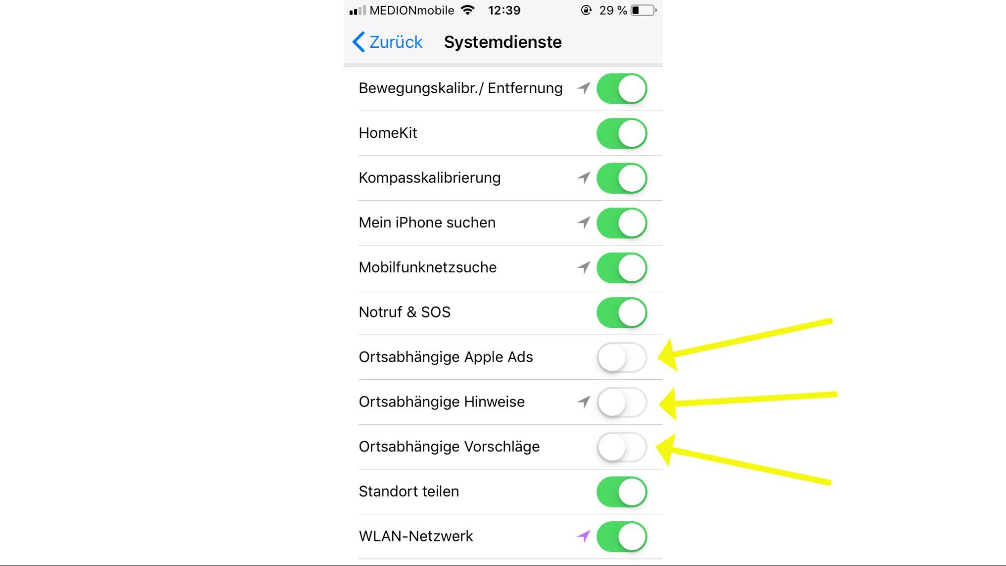 Zehn Funktionen, die jeder iPhone-Nutzer ausschalten sollte - VICE