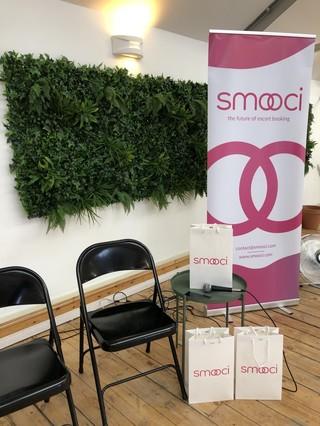 Smooci escort app launch in London