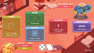 Dicey Dungeons Engineer Loadout