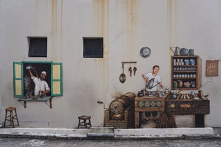 traditional street art singapore history
