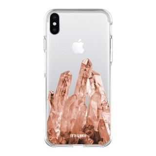 Rose quartz phone case
