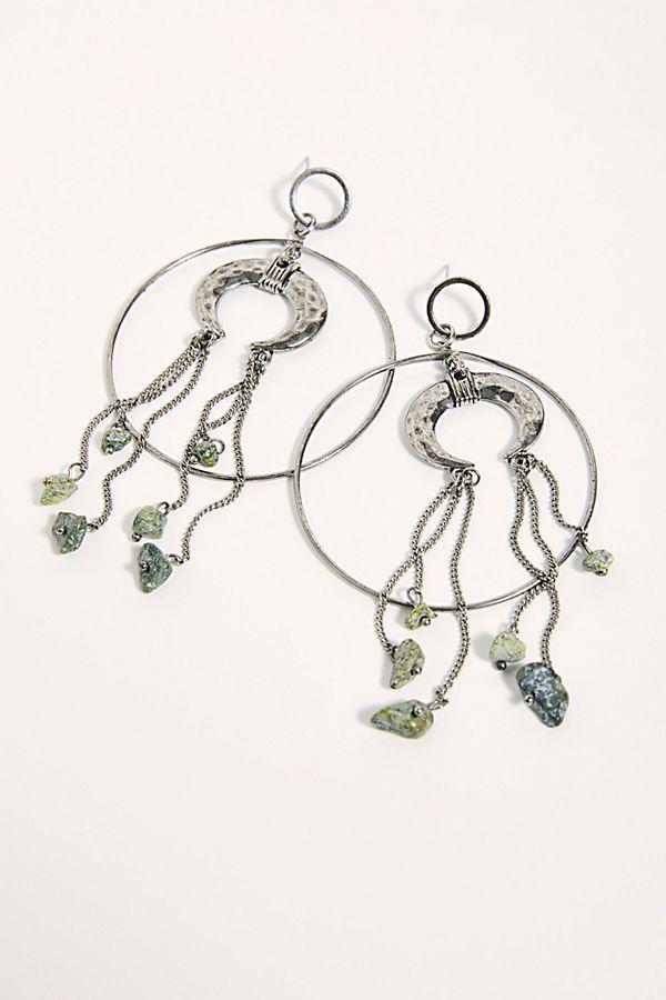Mystic hoop earrings