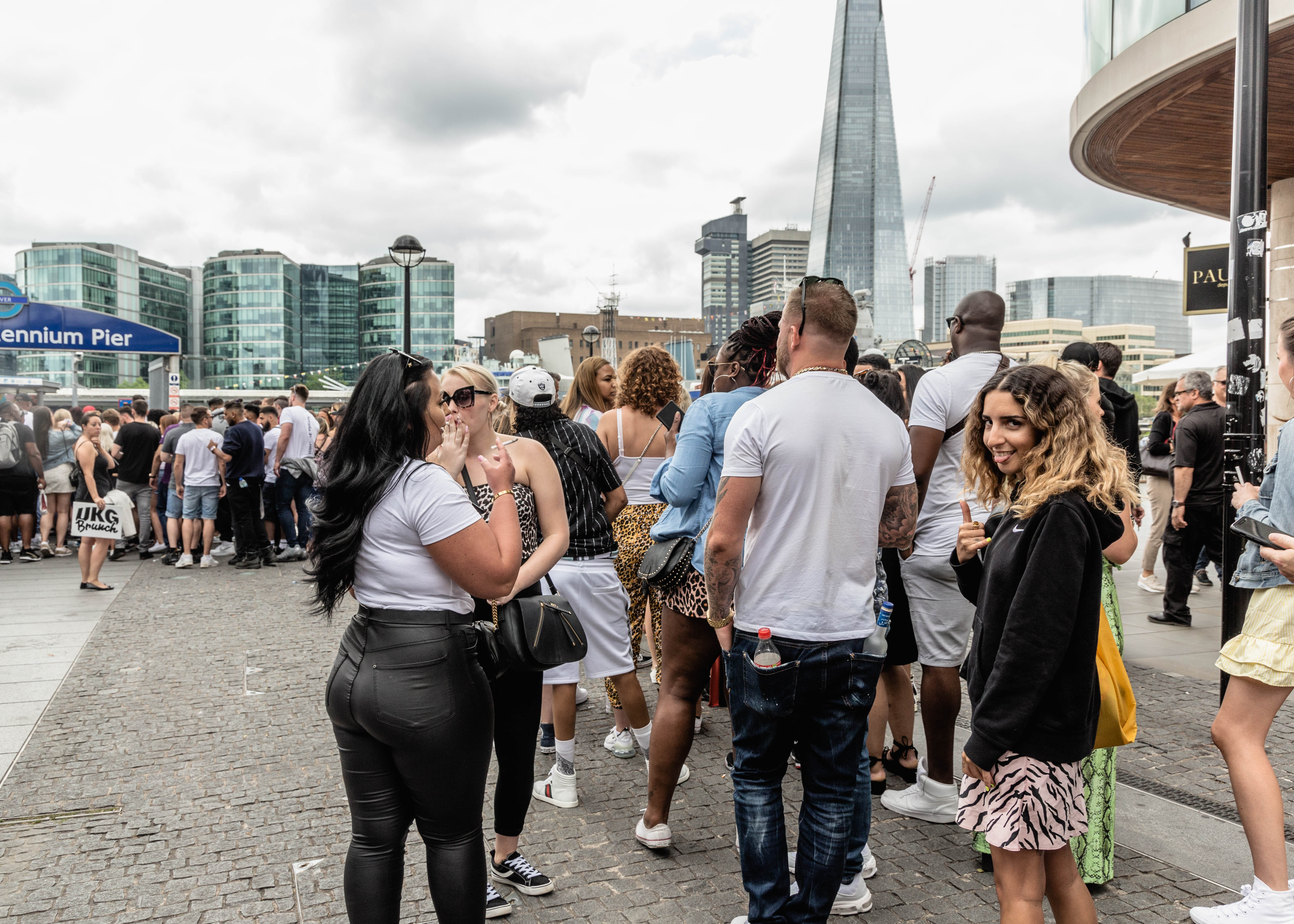 A Big Day Out at a 'UKG Brunch' Boat Party