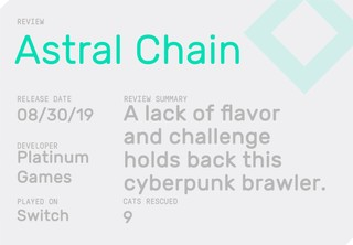 Astral Chain Review Block