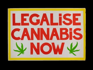 Legalise Cannabis Now Poster