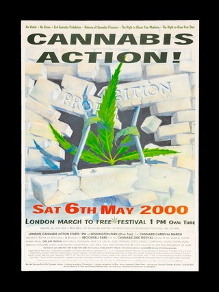 Cannabis Action Poster