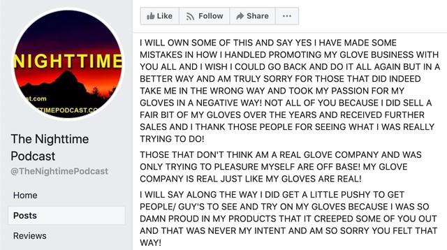 This Late-Night Glove Salesman Masturbating Story Is Very