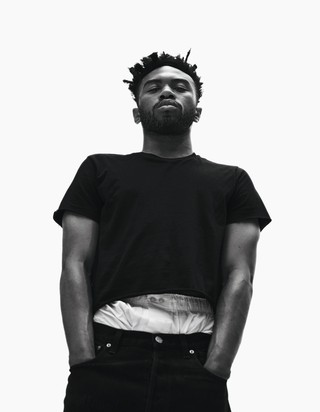 kevin abstract from brockhampton in i-D magazine