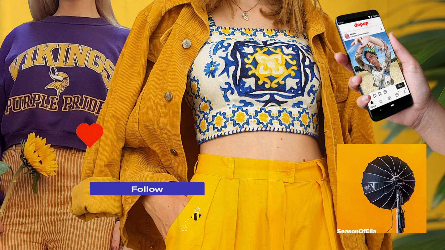 Depop's Dizzying Rise from Your Bedroom to Fashion Week VICE