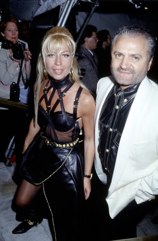 Gianni Versace and Donatella Versace (Photo by Ron Galella/Ron Galella Collection via Getty Images)