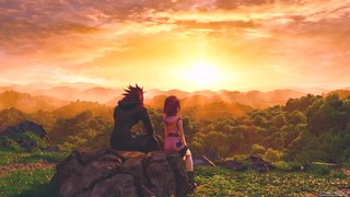 A sunset in Kingdom Hearts, with a soundtrack composed by Yoko Shimomura