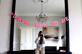 PLEASE TALK TO ME Banner Ghosting Confrontation VICE