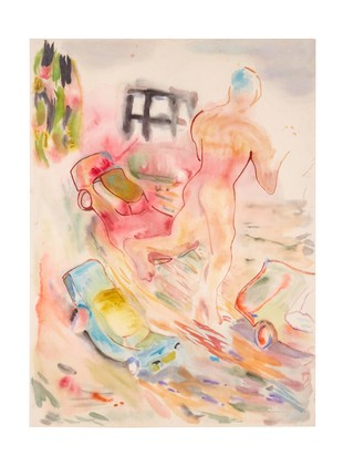 Gus Van Sant Vito Schnabel Watercolor