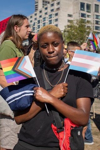 Terroll London's First Ever Trans Pride Photos VICE Heather Glazzard