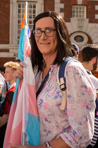 London's First Ever Trans Pride VICE Photos