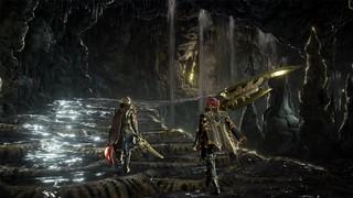 Code Vein - Exploring a cave