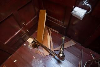 Maurizio Cattelan America Gold Toilet Stolen