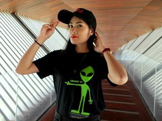Ann Thongcharoen, a core UFO Kaokala member, in Nakhon Sawan.